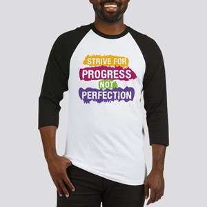 Strive for Progress Baseball Jersey